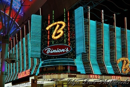 Binion's in downtown Las Vegas
