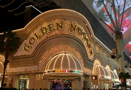 The Golden Nugget Hotel & Casino on Fremont
