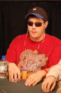 Mark Newhouse at the WSOP