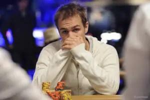 Andrew Robl (aka Good2cu) at the WSOP