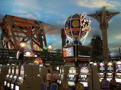 Inside the Paris Las Vegas Casino