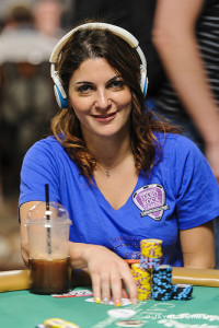 Natasha Barbour at the 2015 World Series of Poker