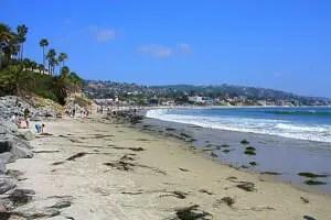 Main Beach at Laguna Beach
