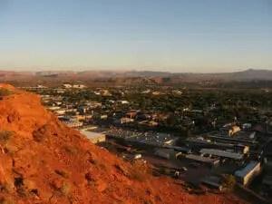 It's 123 miles from Las Vegas to here, St. George, Utah