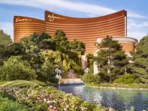 The Wynn Encore complex is the Biggest Casino in Las Vegas
