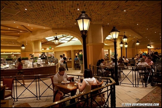 A look inside the Bellagio's Buffet
