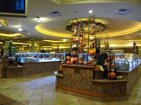 For as big as MGM Grand is, and for as many people and food selections are pushed through this buffet, it receives pretty good reviews overall, and even we've noticed it get better over the years, which is opposite most buffets.