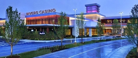 Rivers Casino is 17 miles from downtown Chicago