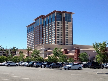 The Thunder Valley Casino Resort, just north of Sacramento, is one of the largest casinos in the USA