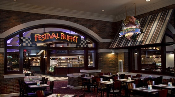 The Festival Buffet at Foxwoods Resort Casino