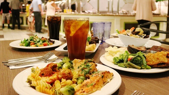 Crafted Buffet at the Stratosphere Hotel & Casino