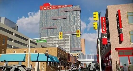JACK Detroit Casino Hotel