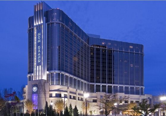 The MGM Grand is Detroit's largest casino