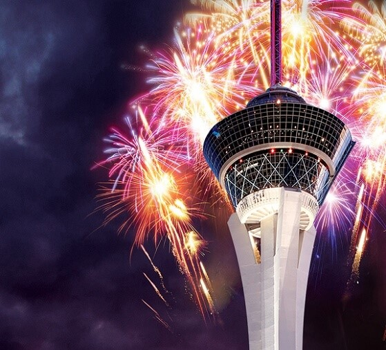 The Stratosphere has a July 4th fireworks show