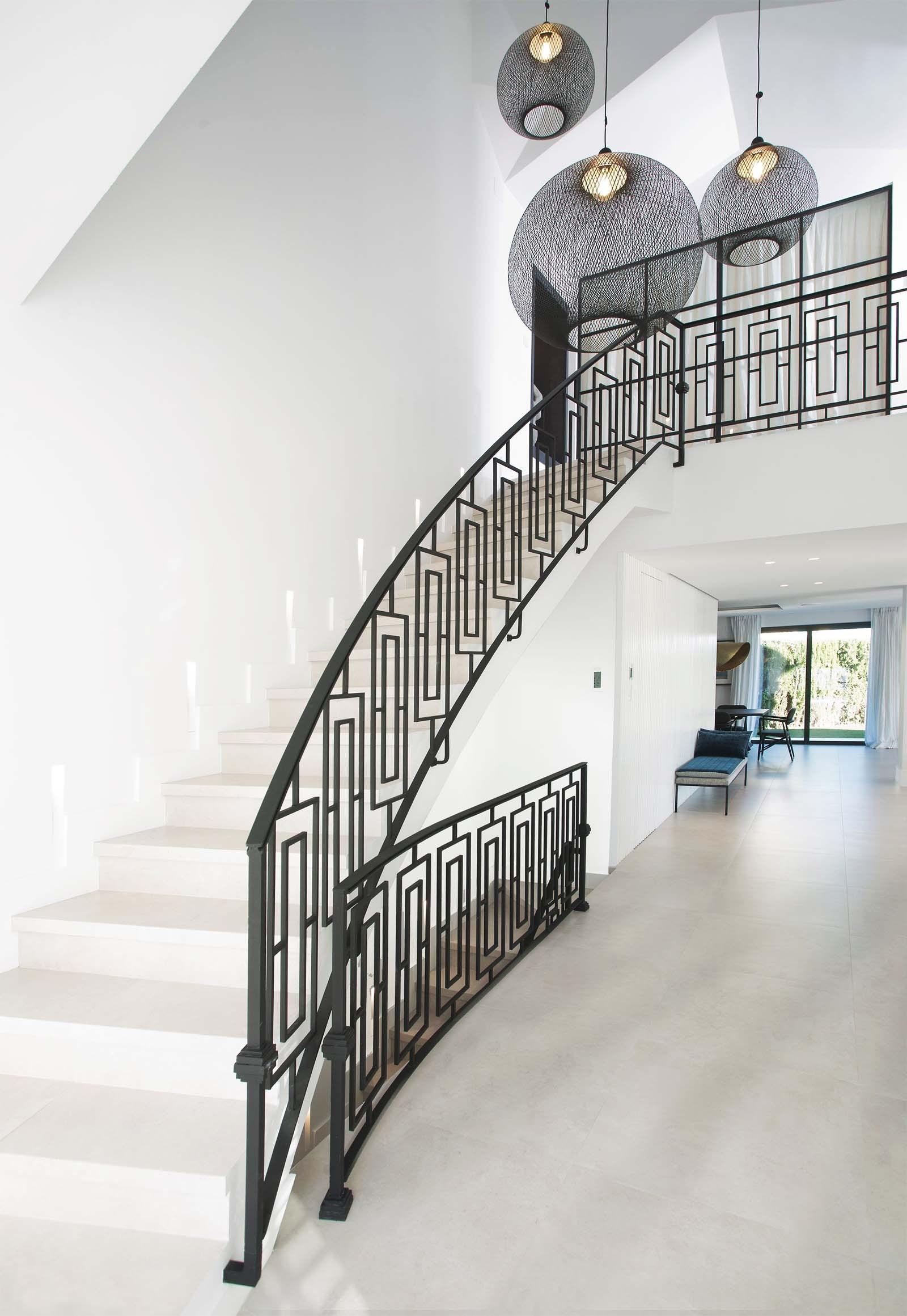 Modern Staircase Design Contemporary Stair Design Ideas | Modern Stair Rails Indoor | Beautiful | Unique Fancy Stair | Wooden | Industrial | Flat Bar