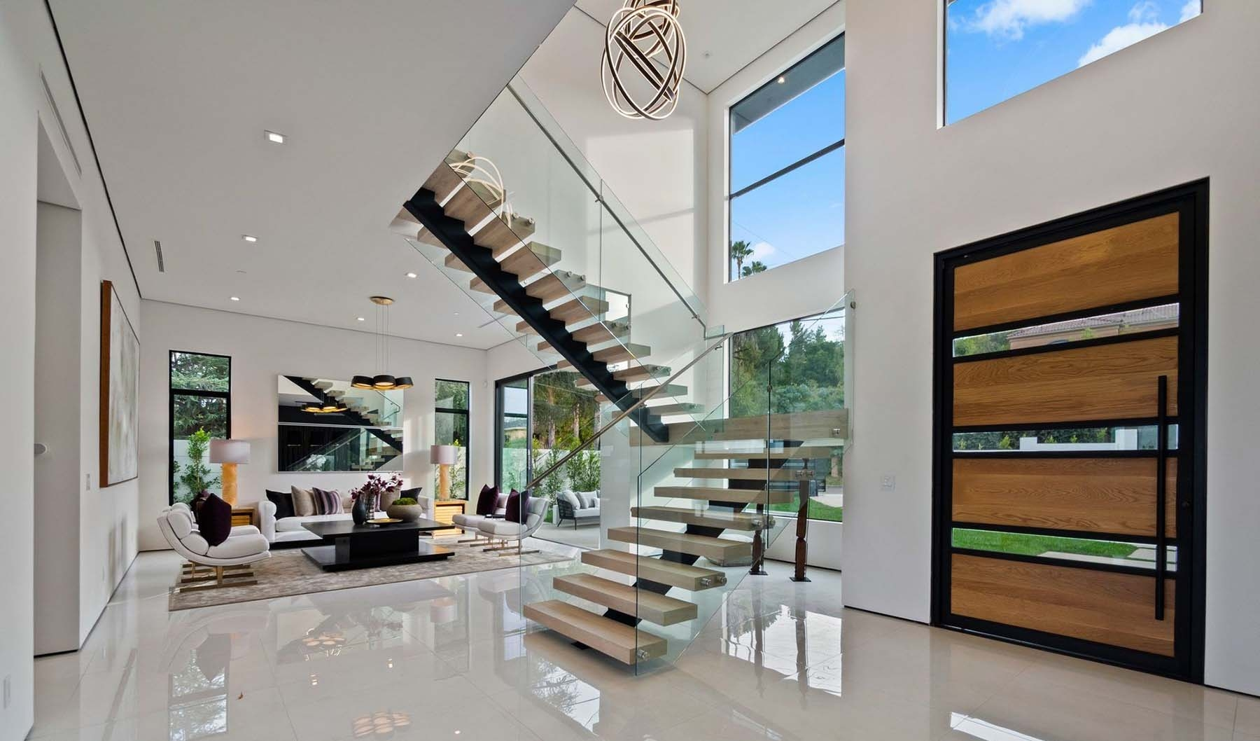 Modern Staircase Design Contemporary Stair Design Ideas | 2Nd Floor Stairs Design | Floor Plan | Low Cost | Outside | Unique | Contemporary