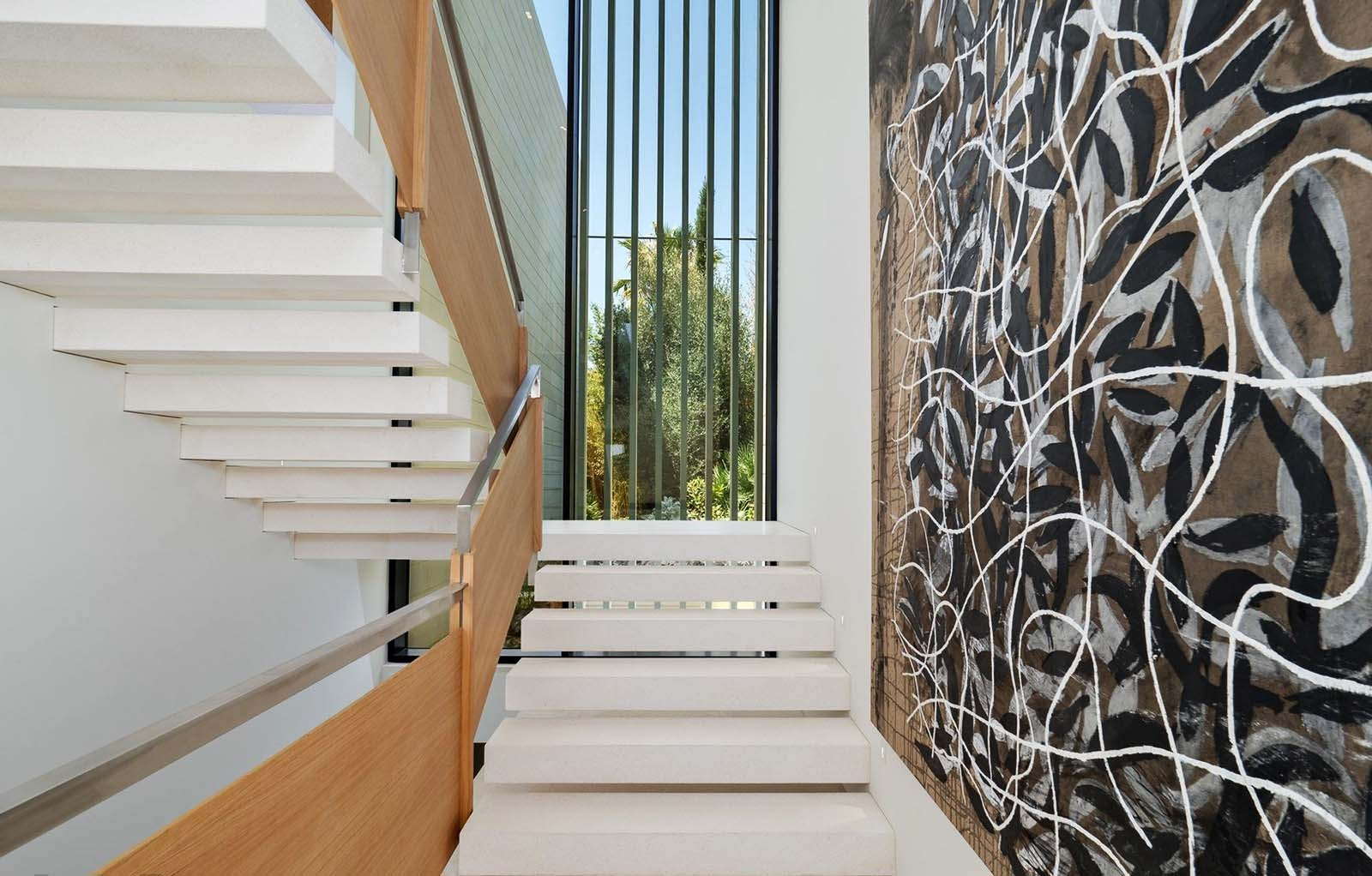 Modern Staircase Design Contemporary Stair Design Ideas | Steps Side Wall Designs | Bedroom | Small House | Marble | Dining Room | Wall Highlight