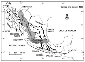 terrenos tectonoestratigráficos_campa & coney, 1983