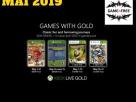 Xbox Live Gold Mai 2019