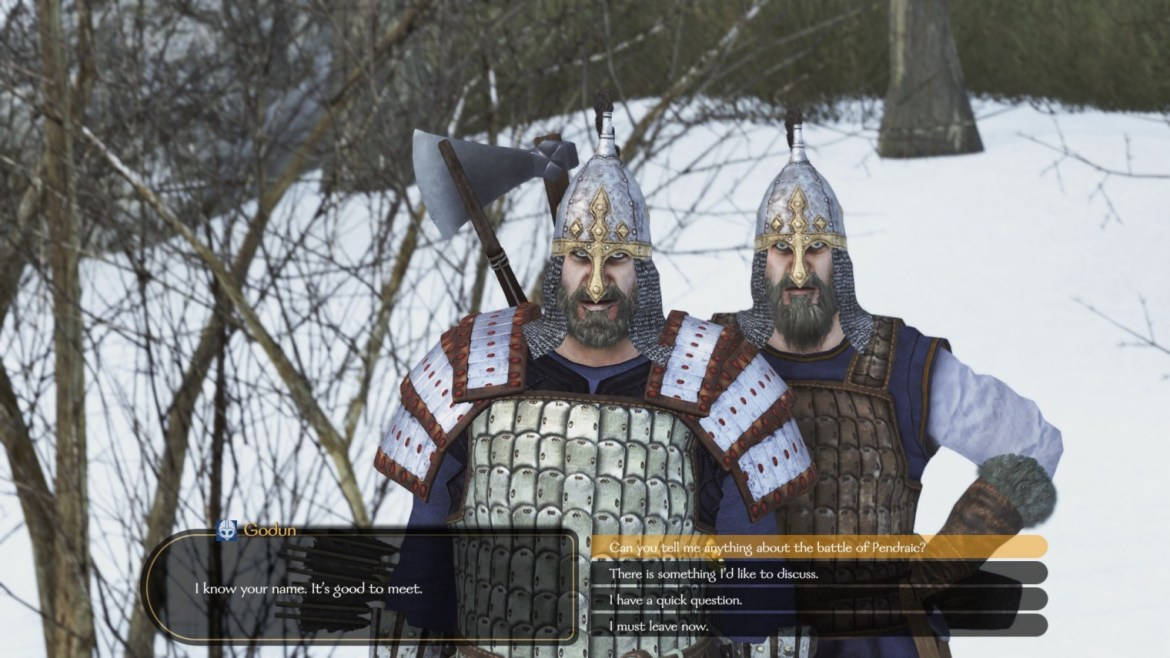 Mount & Blade dialogue
