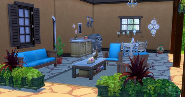 Les Sims 4 Comment Creer Un Patio De Reve Game Guide