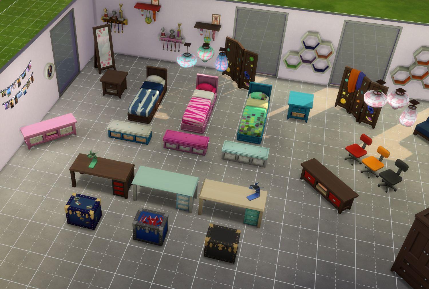 Les Sims 4 Apercu Du Pack De Jeu Chambre D Enfants Game Guide