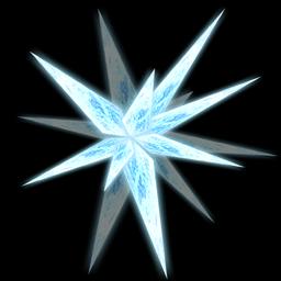 Photoshopを使ったエフェクトの描き方 氷 藤宮翔流のひきだし