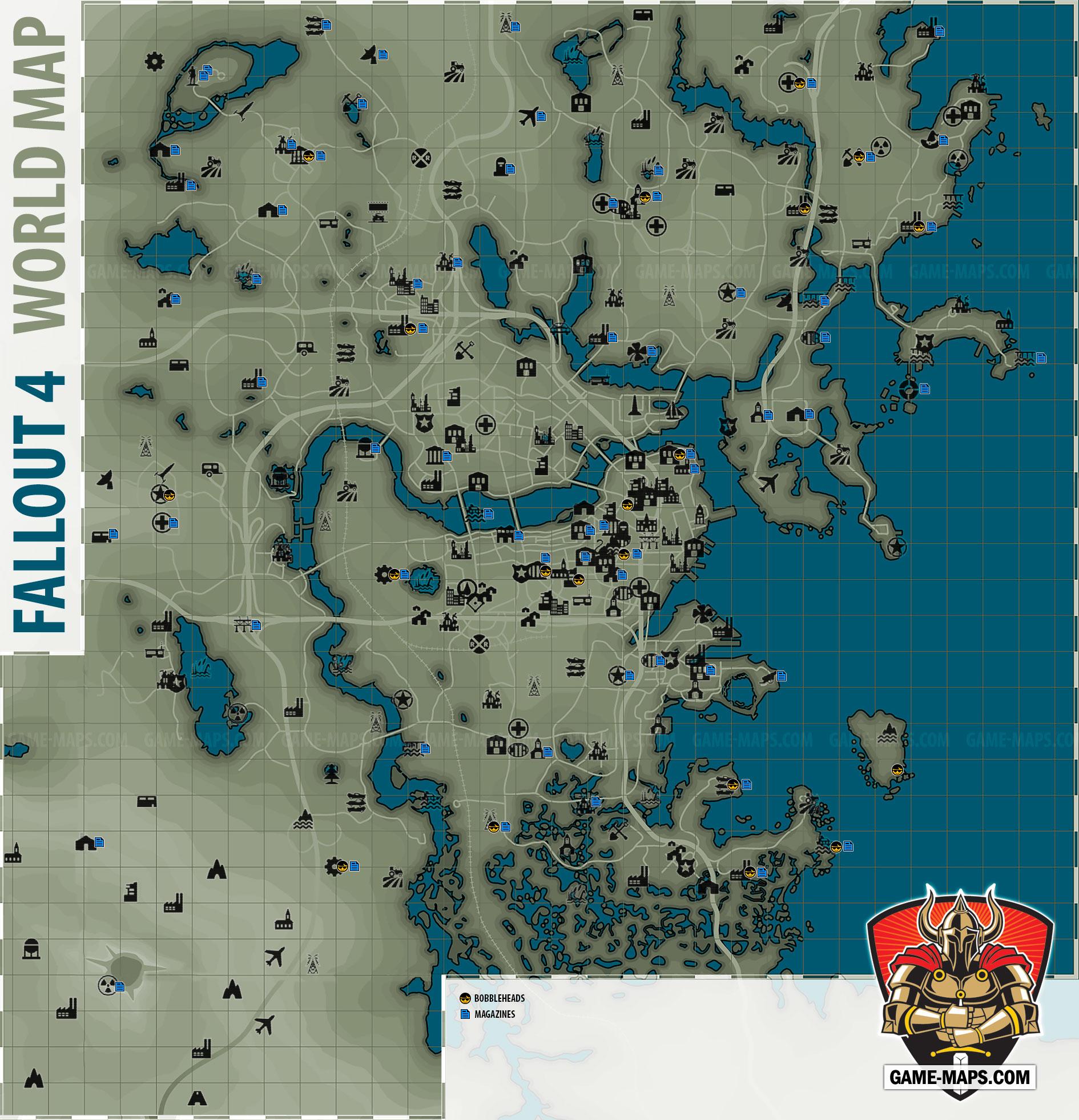 Fallout 4 World Map