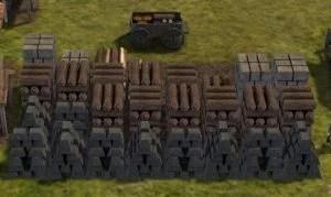 Banished 資材置き場