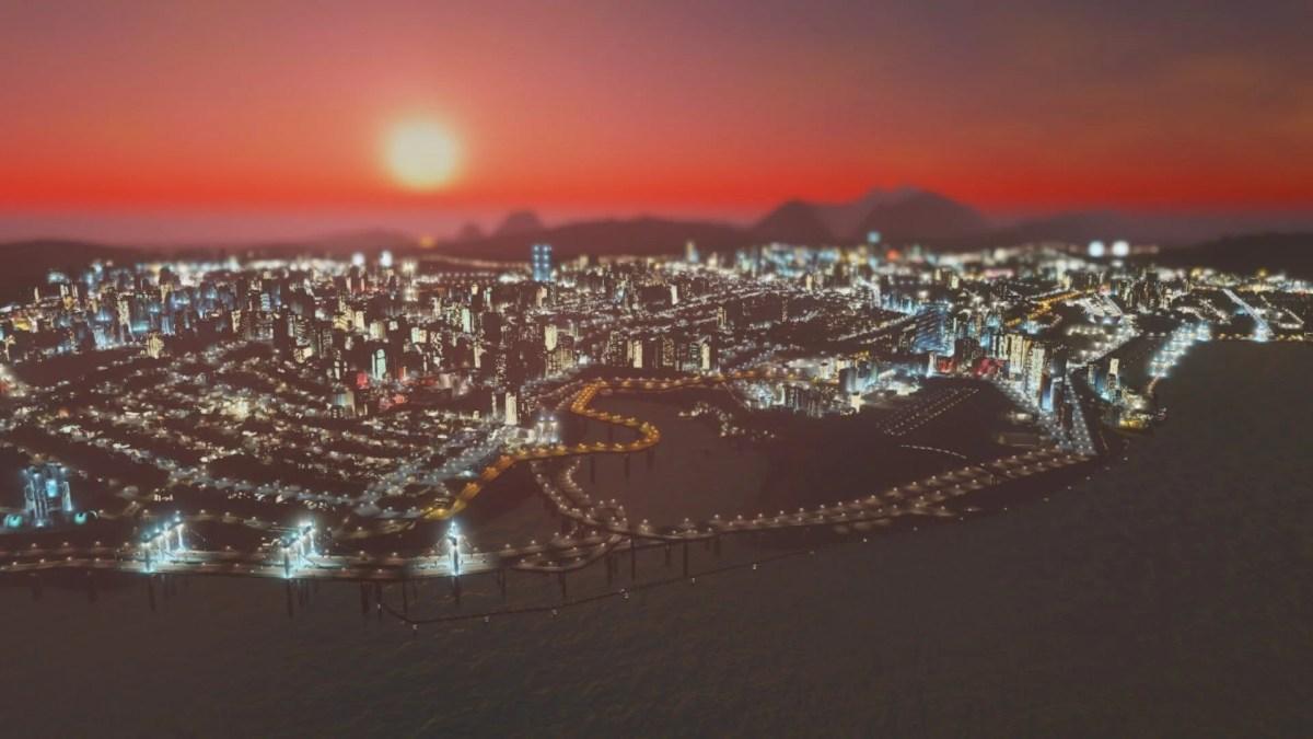 【Cities:skylines攻略ブログ】 渋滞しない貨物港駅・貨物ハブの作り方