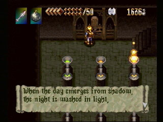PSX Alundra 1 old screen