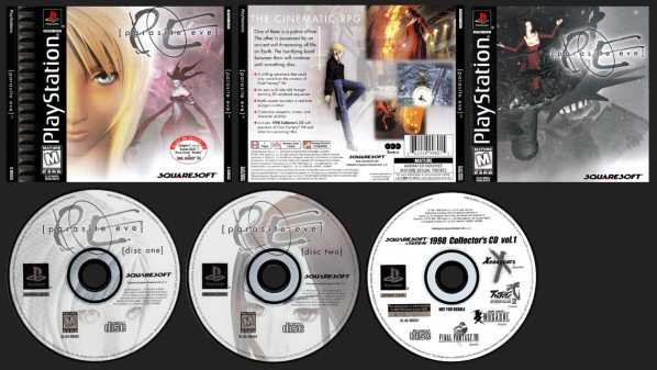 Parasite Eve Double Jewel Case Release with Demo