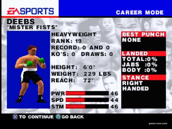 psx knockout kings create a character and ladder Screen Shot 8_19_18, 11.40 PM