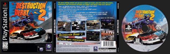 Destruction Derby 2 Jewel Case Release