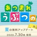 【あつ森アプデ】8月のアップデート!夏の花火!!