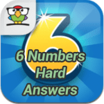 6 Numbers Hard Answers