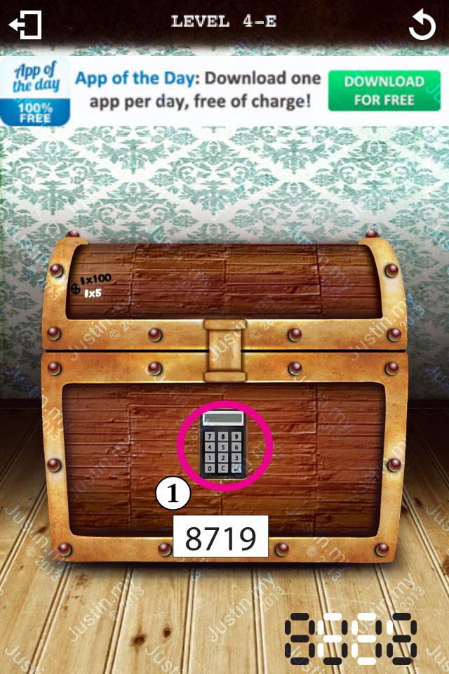 Treasure Box Level 4-E
