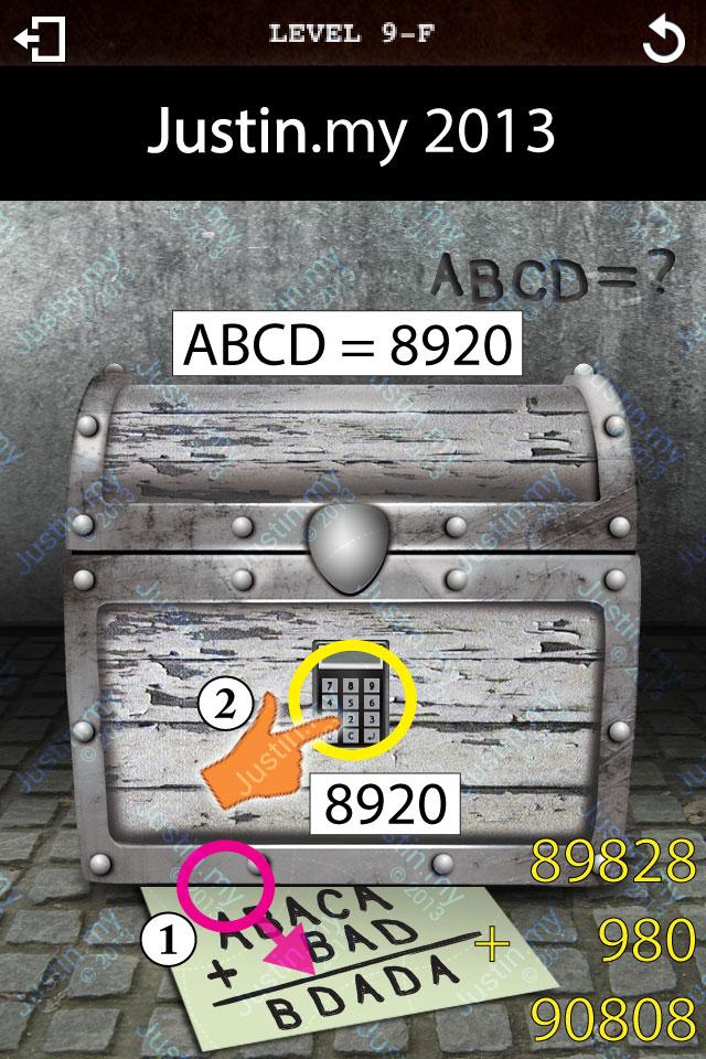 Treasure Box Level 9-F