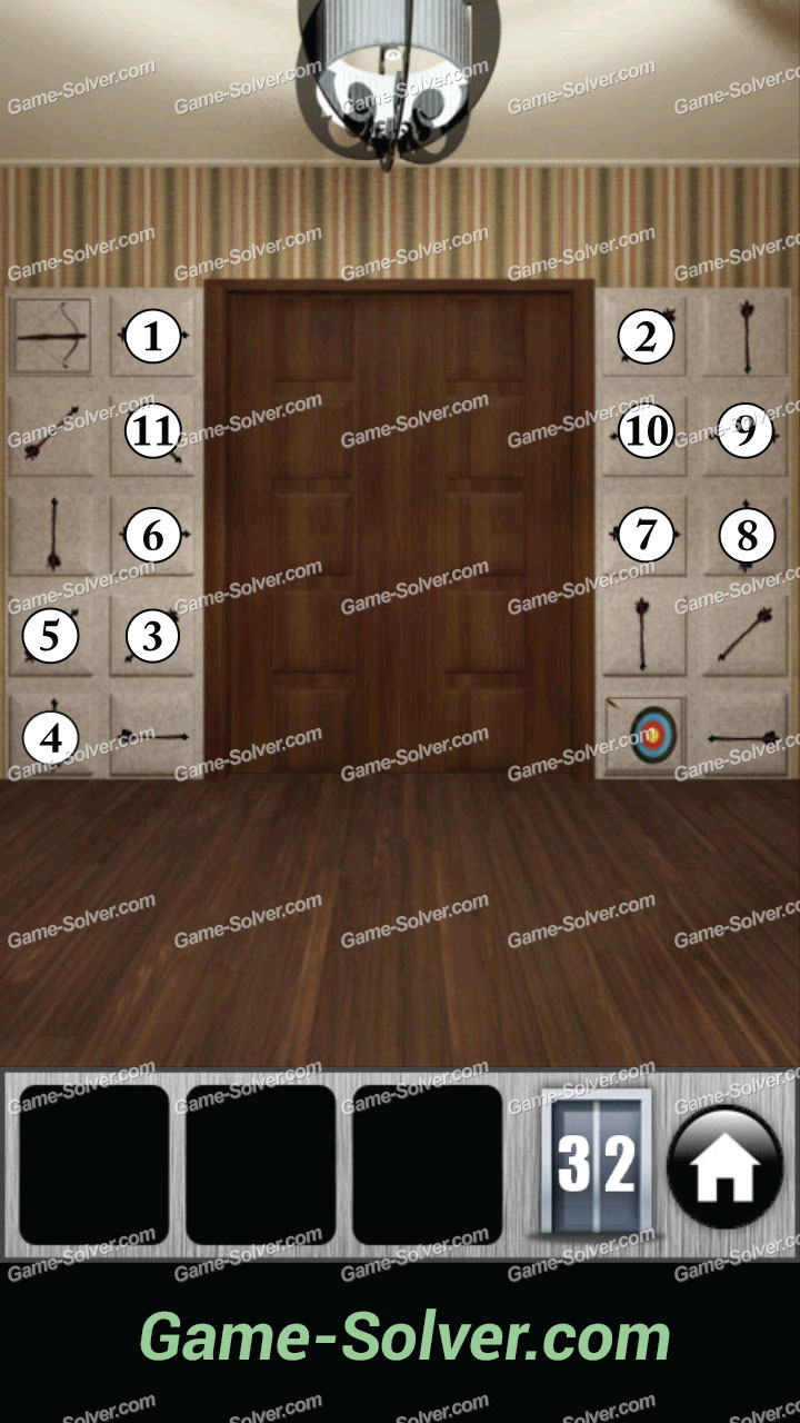 100 Doors 2013 Level 32 Game Solver