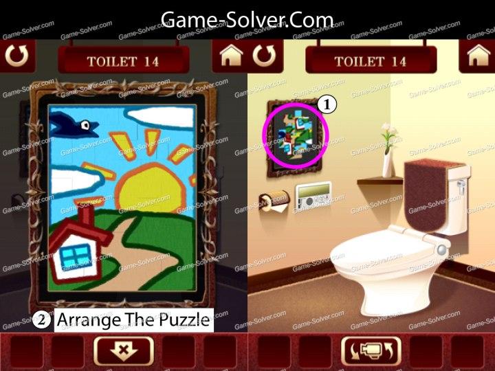 100 Toilets Level 14