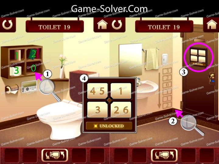 100 Toilets Level 19