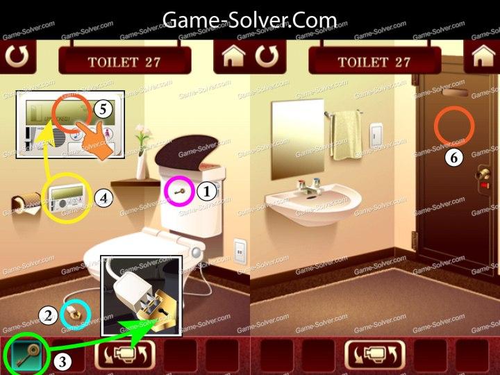 100 Toilets Level 27