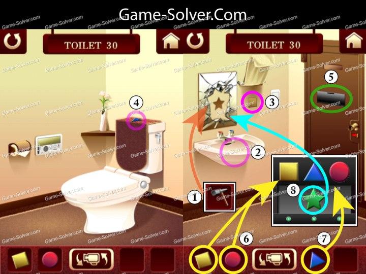 100 Toilets Level 30
