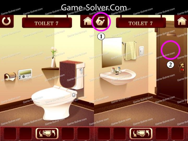 100 Toilets Level 7