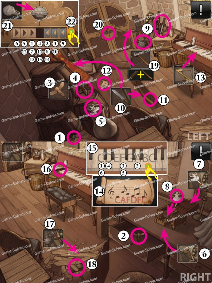 Doors and Rooms 5-1