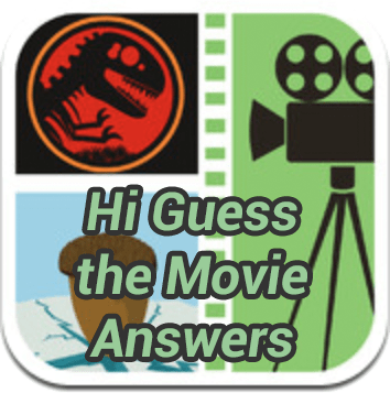 Hi Guess the Movie Answers