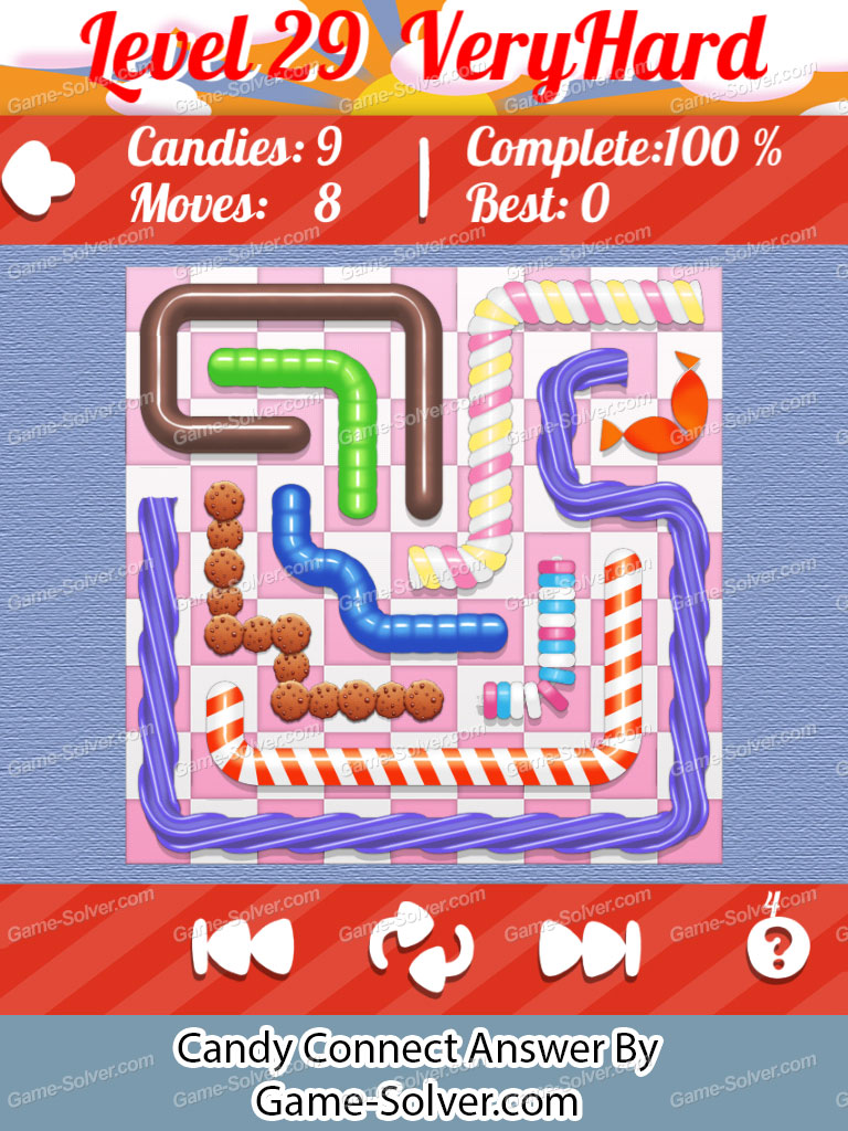 Candy Connect 9x9 Very Hard Level 29