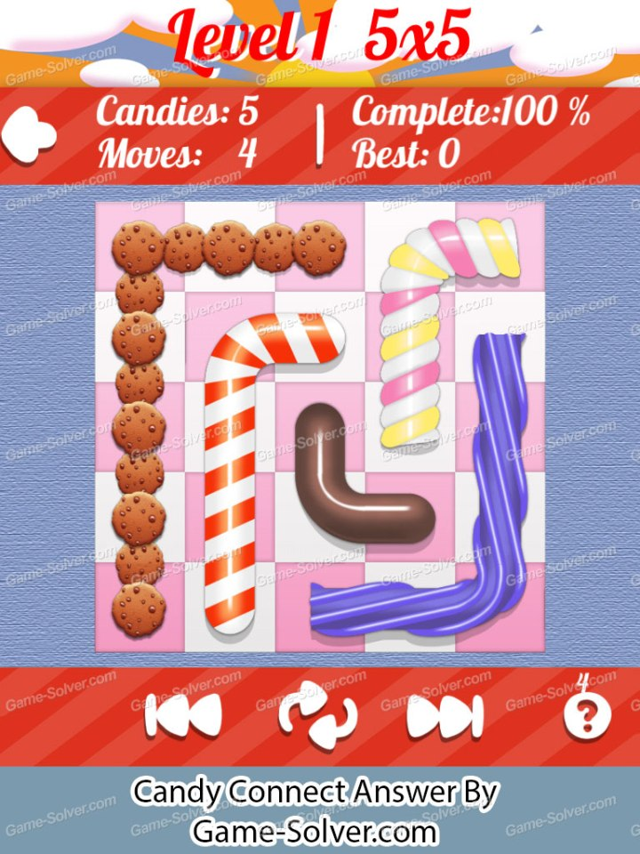 Candy Connect Blue Pack 5x5 Level 1