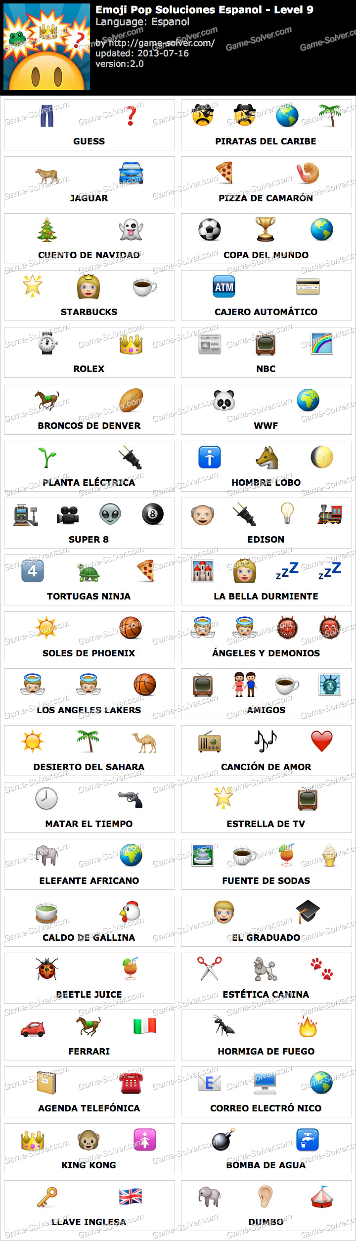 Emoji Pop Nivel 9