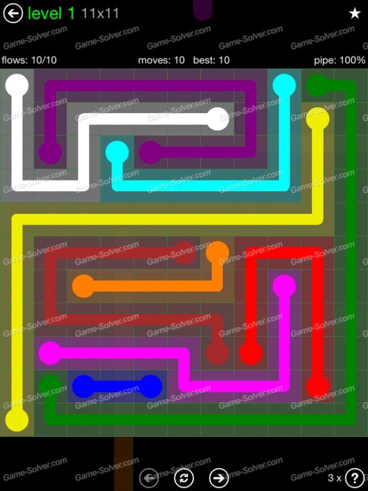 Flow 11x11 Mania Level 1